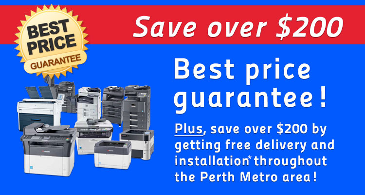 save $200 on kyocera printers perth
